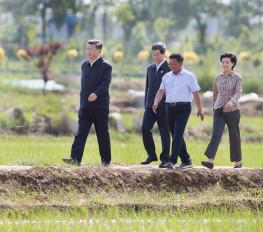 शी चिनफिंग ने किया यिनछुआन का निरीक्षण