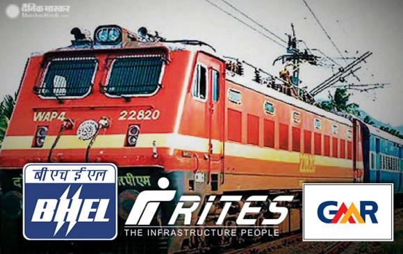 निजी ट्रेन पर हुई पहली बैठक: बॉम्बार्डियर, राइट्स, जीएमआर, भेल सहित 16 कंपनियां हुईं शामिल