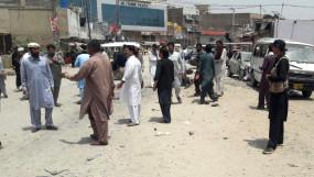 पाकिस्तान में आईईडी विस्फोट में 20 घायल