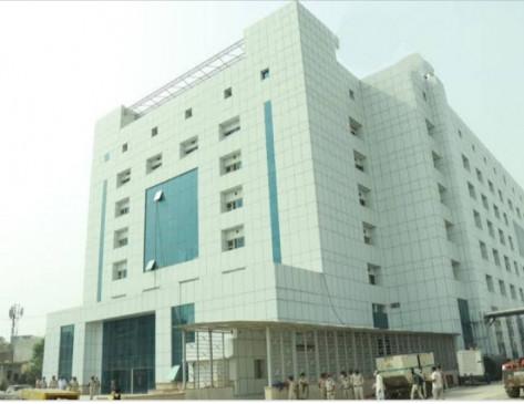 दिल्ली के बुराड़ी में शुरू हुआ 450 बेड का आधुनिक कोविड अस्पताल