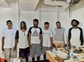 श्रीलंका के 6 मछुआरे अशांत समुद्र से बचाए गए : तटरक्षक
