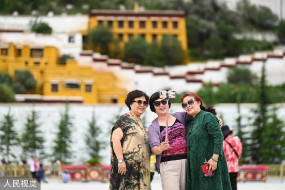 तिब्बत में जनवरी से जून के बीच 83 लाख पर्यटक पहुंचे