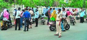 नागपुर पुलिस एक्शन में , नियम तोड़ने वाले 7690 लोगों पर कार्रवाई