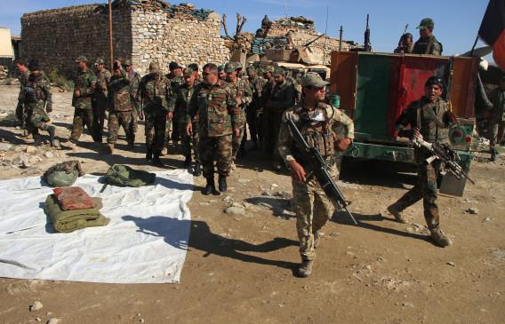 अफगान सैनिकों ने तालिबान के 31 आतंकवादियों को मार गिराया