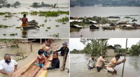 Assam Floods: असम में बाढ़ से तबाही, 59 लोगों की मौत, 30 जिलों के 45 लाख से ज्यादा लोग प्रभावित