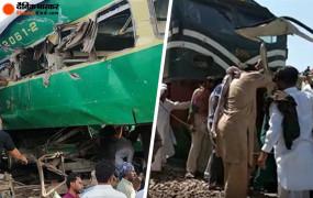 पाकिस्तान: बिना फाटक वाली रेलवे क्रॉसिंग पर ट्रेन ने बस को मारी टक्कर, 19 सिख श्रद्धालुओं की मौत, 8 घायल