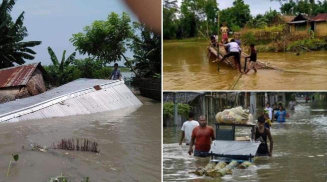 बिहार: 10 जिलों के लाखों लोग बाढ़ की चपेट में, नदियां उफान पर, टूट रहे बांध, रेल और सड़क मार्ग प्रभावित
