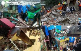 मुंबई में दो बड़े हादसे: मलवानी में चॉल के मलबे में दबे 15 लोगों को बाहर निकाला, दो की मौत, भानुशाली इमारत का भी हिस्सा ढहा