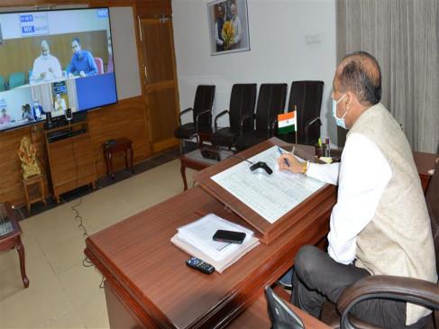 मुख्यमंत्री ने सोलन और सिरमौर के उपायुक्तों से वीडियो-काॅन्फ्रेंसिंग से चर्चा की