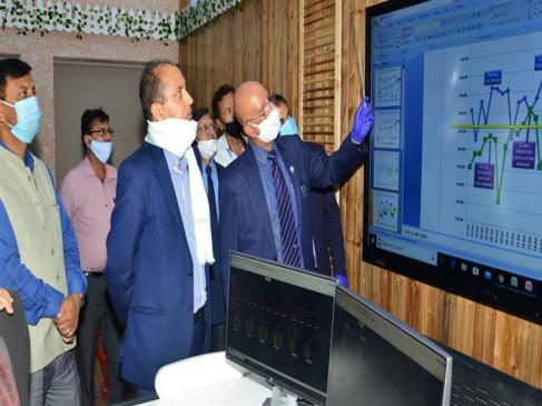मुख्यमंत्री जय राम ठाकुर ने एसएलडीसी के वर्चुअल प्लेटफार्म का शुभारम्भ किया