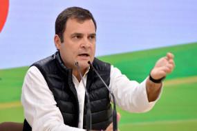 कांग्रेस ने राजस्थान संकट के दौरान राहुल की चुप्पी का बचाव किया