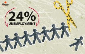 कोरोना संकट: देश में लॉकडाउन से बढ़ी बेरोजगारी, 24 % लोगों ने गंवाई नौकरी, हर पांचवे व्यक्ति में एक बेरोजगार