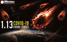 Coronavirus in World: बीते 24 घंटे में अमेरिका में 43 हजार से ज्यादा मामले सामने आए, दुनिया में संक्रमितों की संख्या 1.13 करोड़ के पार