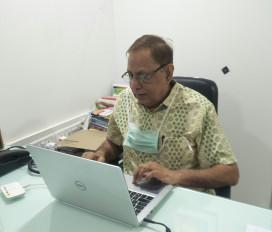 दिल्ली यूनिवर्सिटी के ऑनलाइन सेशन में दैनिक भास्कर के मंडे पॉजिटिव थीम की जमकर हुई तारीफ