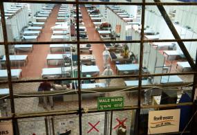 दिल्ली : अस्पतालों में 28 सौ कोरोना रोगी, 12 हजार बेड खाली