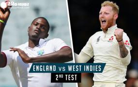 Eng vs WI,2nd Test, Day 1: इंग्लैंड के 3 विकेट गिरे, कप्तान रूट 23 रन बनाकर आउट, चेज को 2 विकेट