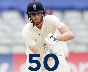 Eng vs WI,2nd Test, Day 1: इंग्लैंड के 3 विकेट गिरे, डॉम सिबली का अर्धशतक, चेज को 2 विकेट
