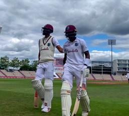 Eng vs WI,1st Test, Day 3: पहली पारी में इंग्लैंड 204 रनों पर ढेर, WI की सधी हुई शुरुआत, लंच तक स्कोर 159/3