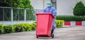 कोरोना उपचार केंद्रों का कचरा डिस्पोज करने में सख्ती से हो नियमों का पालन