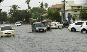 पाकिस्तान के आर्थिक केंद्र में भारी बारिश का कहर