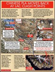 भारत, चीन की सेनाओं ने लद्दाख सीमा से पीछे हटने पर बातचीत की