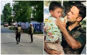 J&K: सोपोर में CRPF टीम पर आतंकी हमला, एक जवान शहीद, तीन साल के बच्चे को बचाया