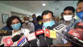 केजरीवाल ने दिल्ली के सांसदों से कोरोना पर चर्चा की