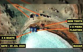 India-China Dispute: सैटेलाइट इमेज में खुलासा, पैंगॉन्ग लेक में तैनाती बढ़ा रहा चीन
