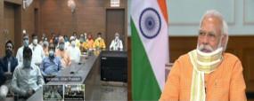 PM का संवाद: काशीवासियों से बोले मोदी- जो शहर दुनिया को गति देता हो, उसके आगे कोरोना क्या चीज