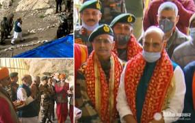 J&K: रक्षा मंत्री ने अमरनाथ के बाद कुपवाड़ा में एलओसी के पास फॉरवर्ड पोस्ट का किया दौरा