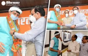 मप्र: उपचुनाव से पहले कांग्रेस को बड़ा झटका, विधायक प्रद्युम्न सिंह लोधी बीजेपी में शामिल