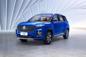 SUV: MG Hector Plus का टीजर वीडियो जारी, मिली इंटीरियर की झलक
