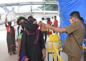बेंगलुरु में कोरोना टेस्ट में तेजी के लिए मोबाइल वैन