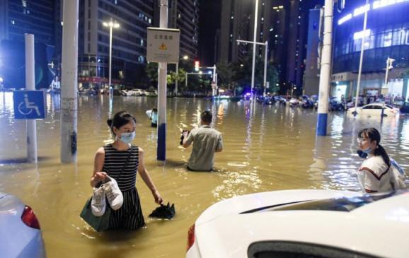 China Floods: चीन में 1.9 करोड़ से अधिक लोग बाढ़ से हुए प्रभावित