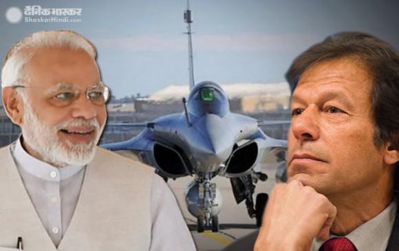 राफेल से डरा पाक: विदेश मंत्रालय ने कहा- भारत अपनी रक्षा जरूरतों से कहीं ज्यादा हथियार जुटा रहा