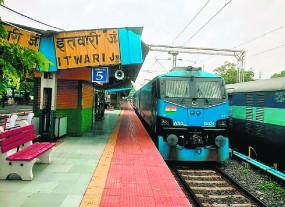 नागपुर इतवारी से दौड़ा 12 हजार हॉर्स पावर का रेल इंजन