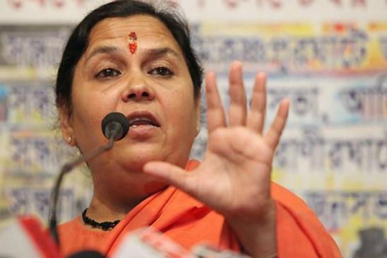 MP: उमा भारती का तंज- गांधी परिवार के कारण हो रहा कांग्रेस का यह हाल