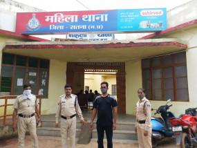 दुष्कर्म के आरोपी बीएसएफ के जवान को पश्चिम बंगाल से पकड़ लाई सतना पुलिस