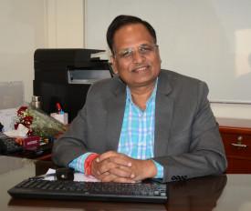 दिल्ली: कोरोना से जंग जीत काम पर लौटे सत्येंद्र जैन, फिर संभाला स्वास्थ्य मंत्रालय का कार्यभार