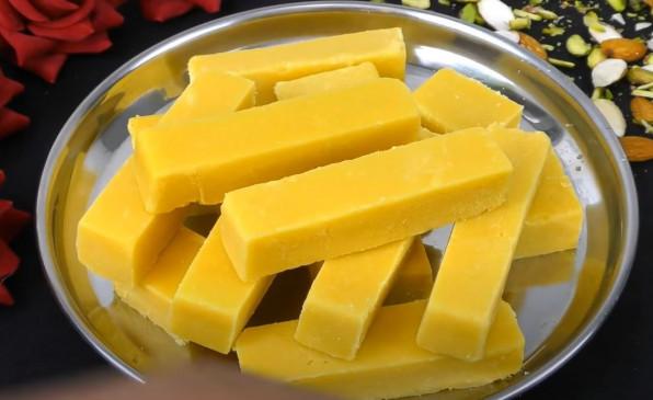 Sweet: 15 मिनट में 3 चीज़ो से बनाएं सॉफ्ट मैसूर पाक, जो होता है मक्खन की तरह नरम