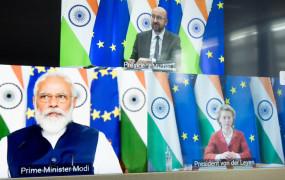 शिखर सम्मेलन-2020: पीएम मोदी बोले- विश्व शांति के लिए भारत और यूरोपीय संघ की भागीदारी बेहद अहम