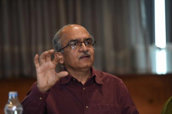 न्यायपालिका के खिलाफ टिप्पणी पर प्रशांत भूषण को सुप्रीम कोर्ट का नोटिस