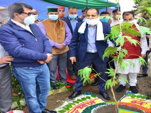 41 वन मण्डलों में 1.20 करोड़ पौधे रोपित करने का लक्ष्यः जय राम ठाकुर