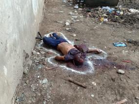 कचरा चुननेवाले युवक की पत्थर से कुचलकर हत्या