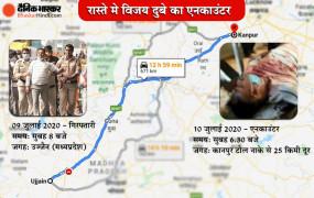 Vikas Dubey Encounter: कानपुर में मारा गया गैंगस्टर विकास दुबे, यूपी एसटीएफ ने एनकाउंटर में किया ढेर