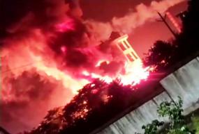 आंध्र प्रदेश: विशाखापत्तनम फार्मा कंपनी में भीषण आग, एक व्यक्ति की मौत