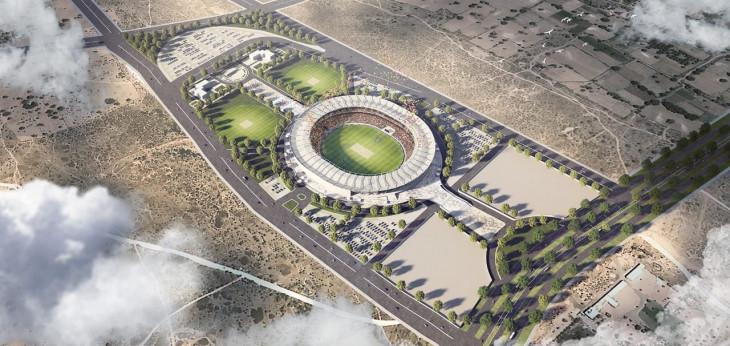 जयपुर में 350 करोड़ रुपए की लागत से बनेगा विश्व का तीसरा सबसे बड़ा क्रिकेट स्टेडियम, 75 हजार दर्शक देख सकेंगे मैच