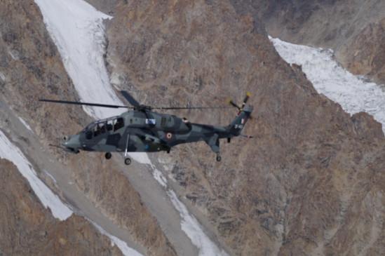 एचएएल द्वारा बनाए गए 2 हल्के लड़ाकू विमान लद्दाख में तैनात