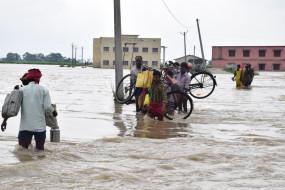 बिहार में बाढ़ से 21 लोगों की मौत, 69 लाख की आबादी प्रभावित