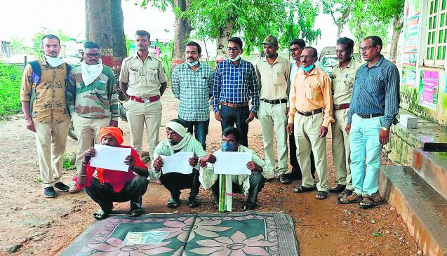 वन्यजीवों के अंगो की तस्करी करनेवाले 3 आरोपी गिरफ्तार